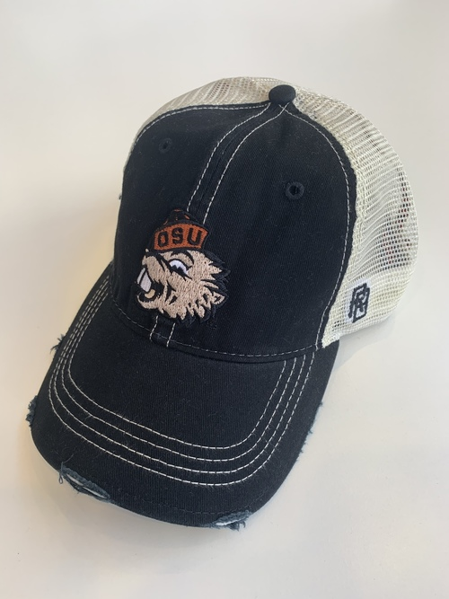 OSU Beaver Hat Distressed