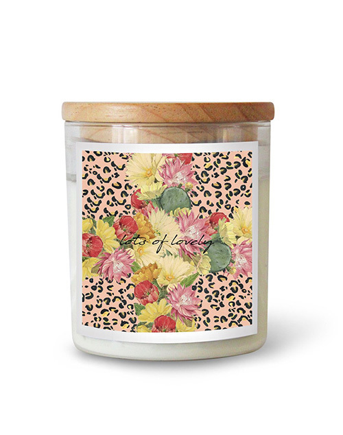 Ourliru Collab Catus Cross - Byron Candle