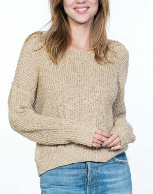 V Neck Easy Sweater