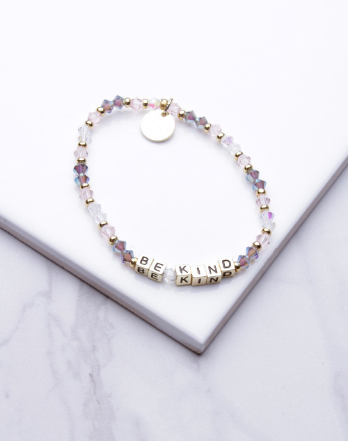 Little Words Project - Be Kind Bracelet Gold