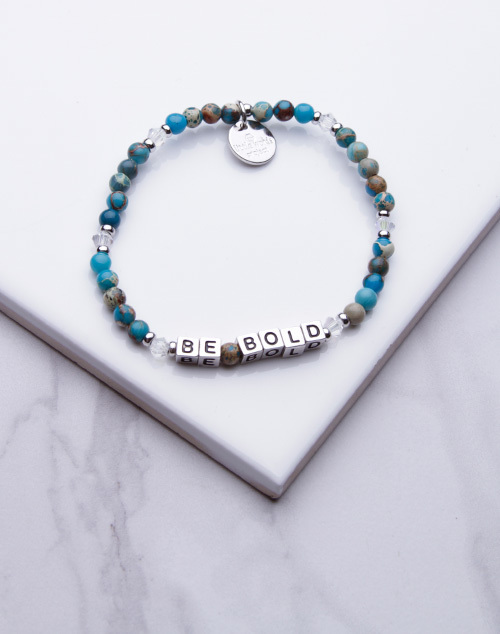 Little Words Project - Be Bold Bracelet Silver
