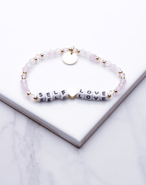Little Words Project - Self Love Bracelet White