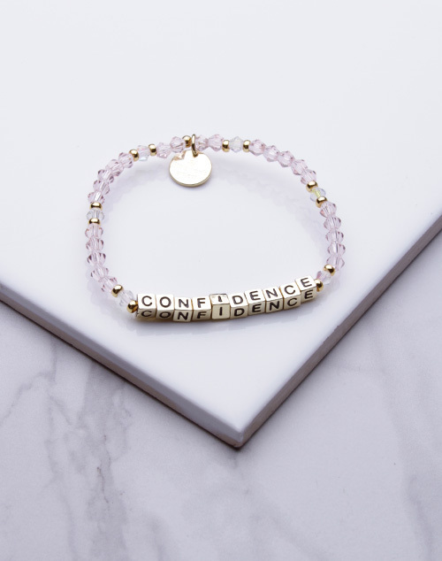 Little Words Project - Confidence Bracelet Gold