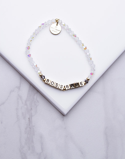 Little Words Project - Boss Babe Bracelet Gold
