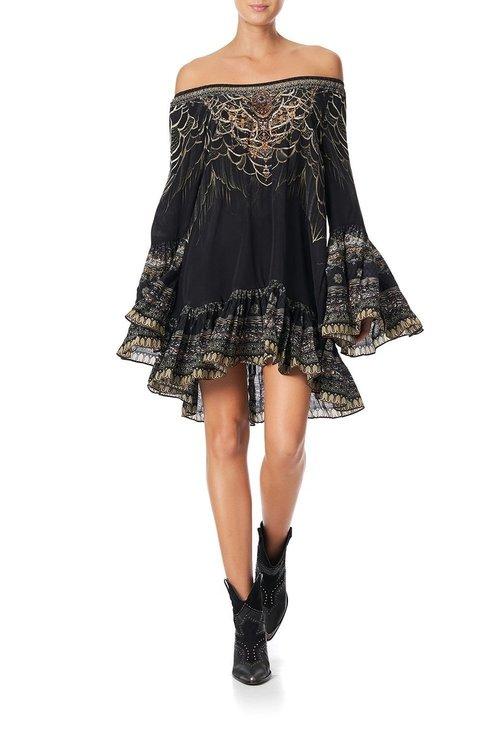 A-Line Frill Dress