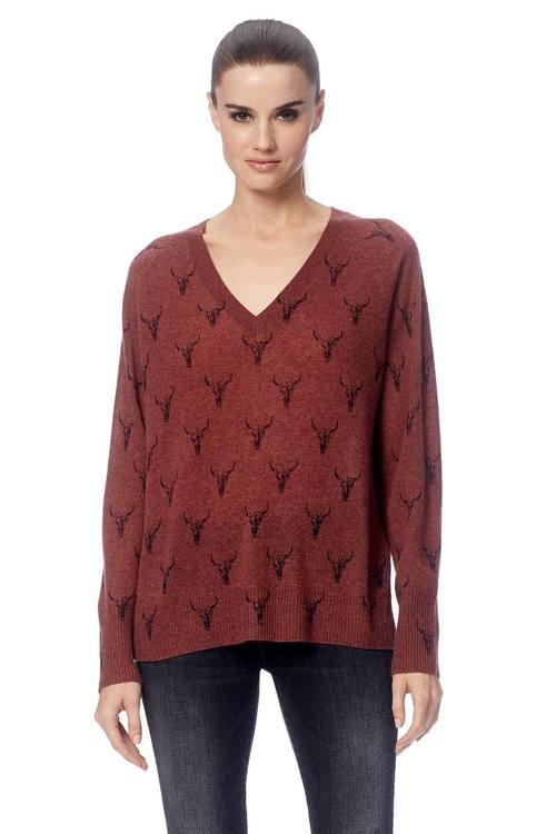 Emerson Skull Sweater
