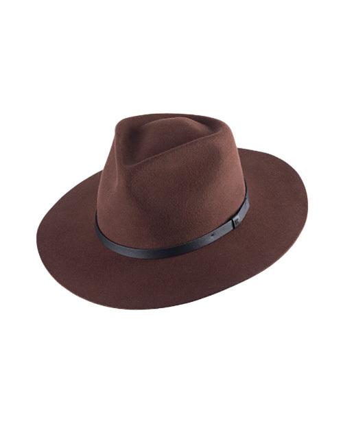 Goodwin Wide Brim Fedora Hat