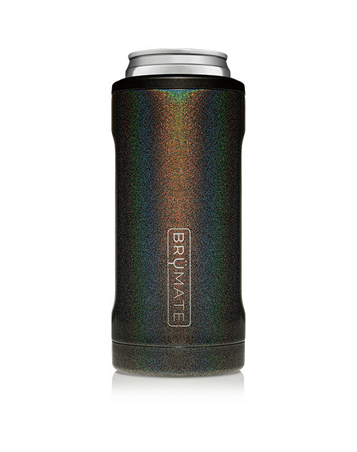 Hopsulator Slim 12oz - Glitter Charcoal