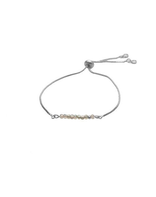 Sprinkle Of Glitter Luminesce Bolo Bracelet Sterling