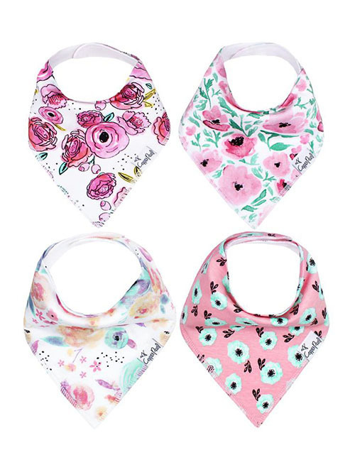 Bloom Baby Bandana Bib Set