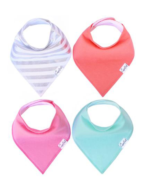 Jewel Baby Bandana Bib Set