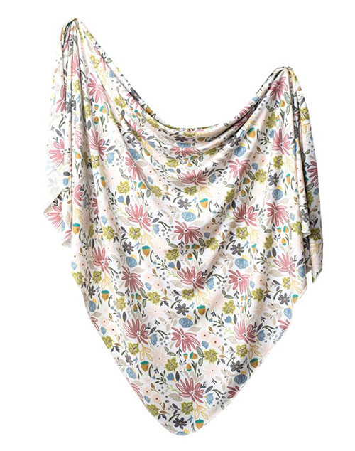 Olive Knit Blanket