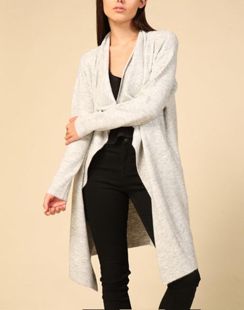 Long Sleeve Open Sweater Cardigan