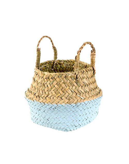 Baby Belly Basket Sky Blue