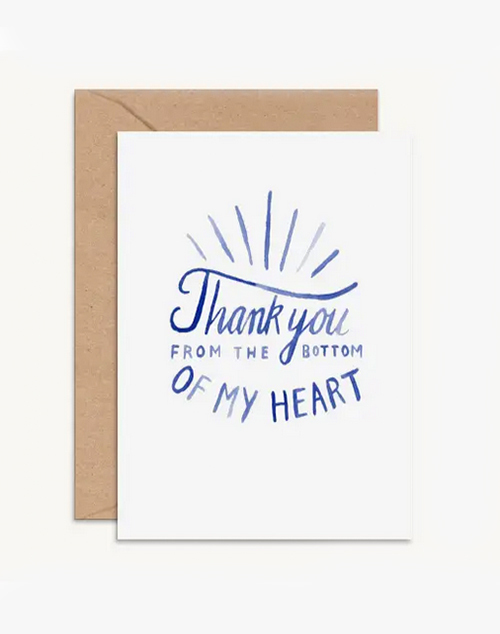 From The Bottom Of my Heart Card