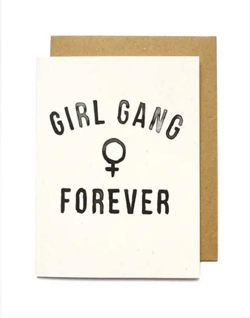 Girl Gang Forever Card