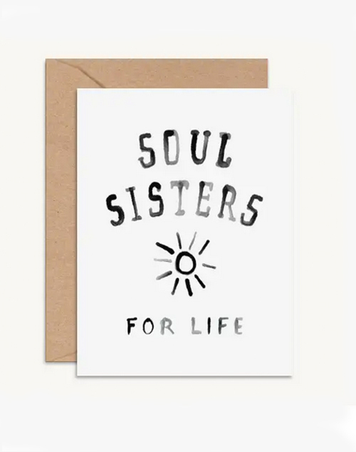 Soul Sisters Card