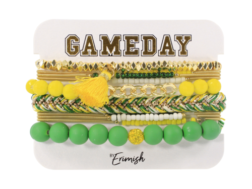 Gameday Mixer Yellow Green