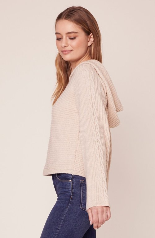 Knock on Hooded Sweater