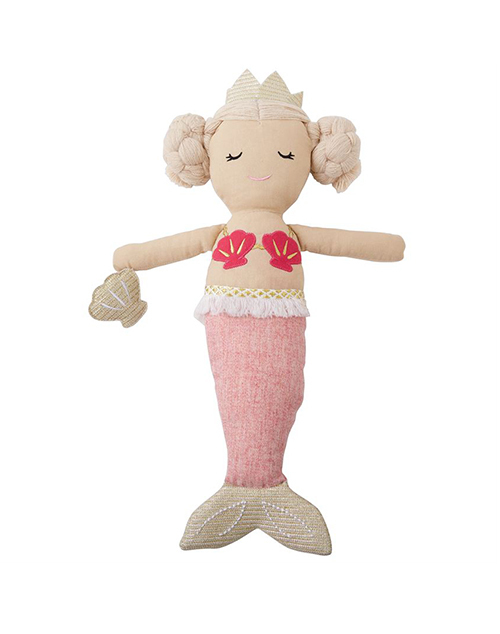 Light Pink Tail Mermaid Doll