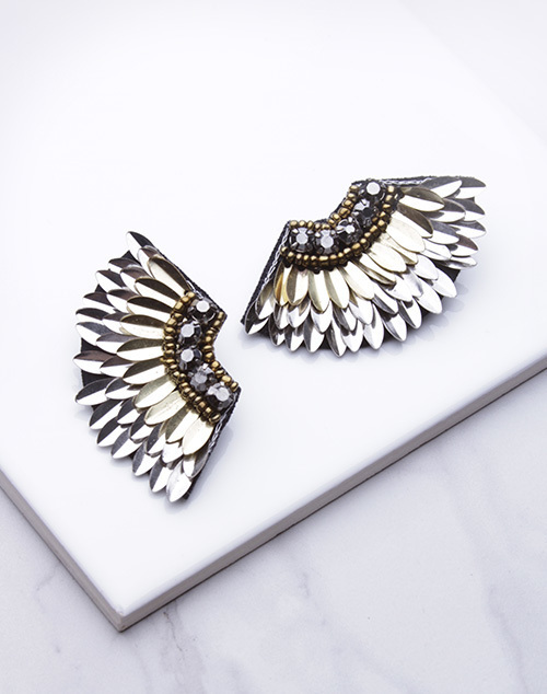 Glam Wing Shape Dangle