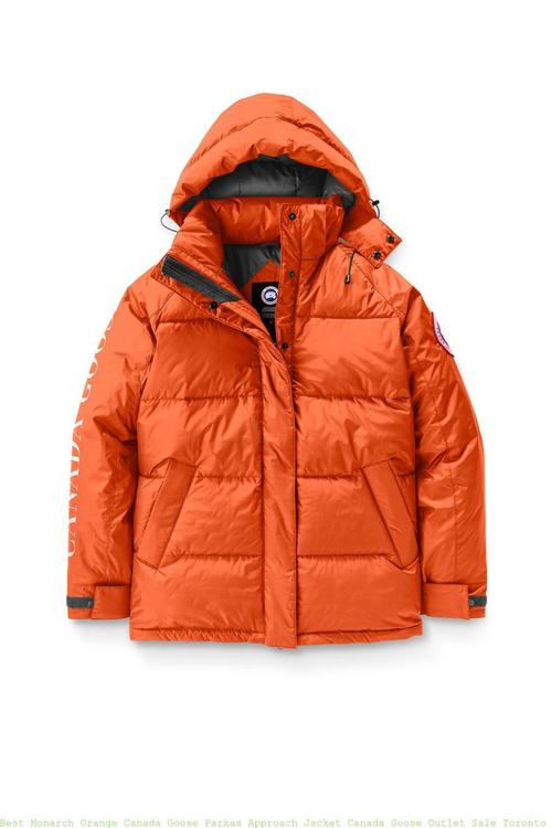 Canada Goose W Approach Jacket Monarch Orange