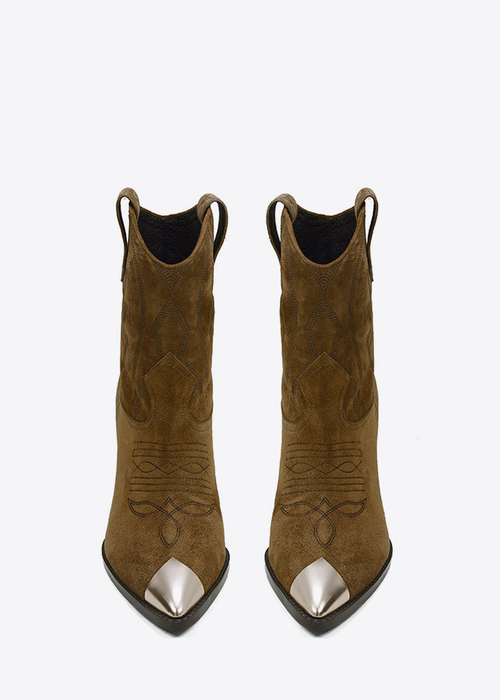 Rose Gold tip Cowboy boot