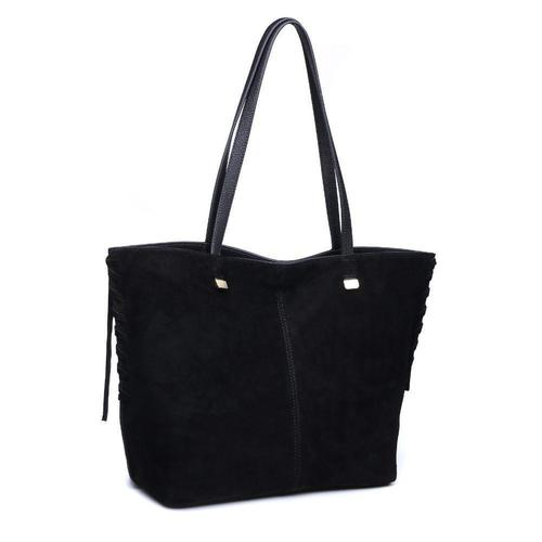 Black Queen Shoulder Tote