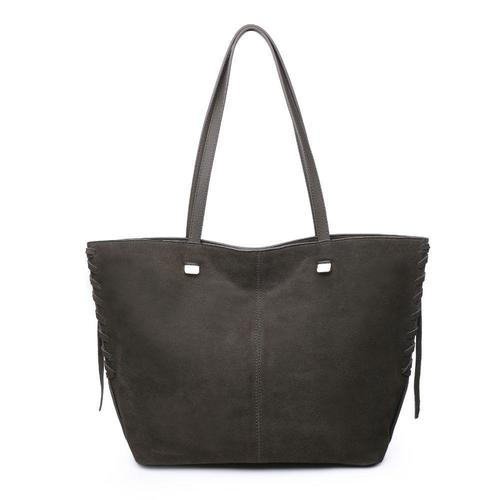 Olive Queen Shoulder Tote