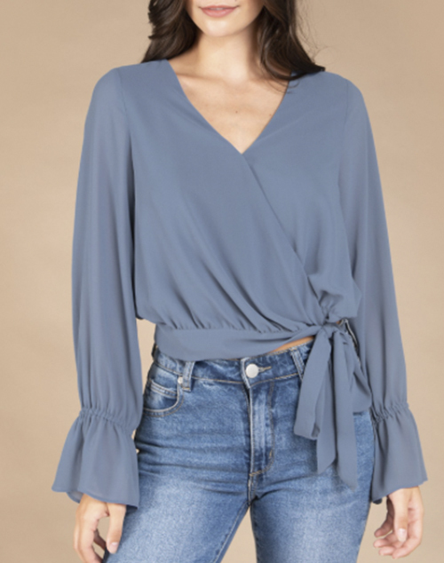 Long Sleeve Regular Shoulder Top