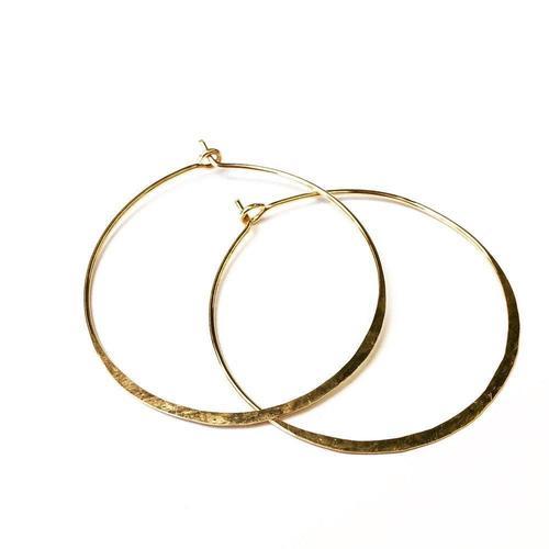 Agapantha Gold Fill Ritu Medium Hoops
