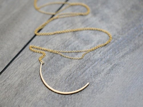 Saressa Lupin Necklace Gold Fill