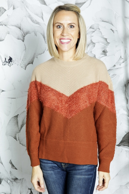 Sylvie Crew Neck Sweater