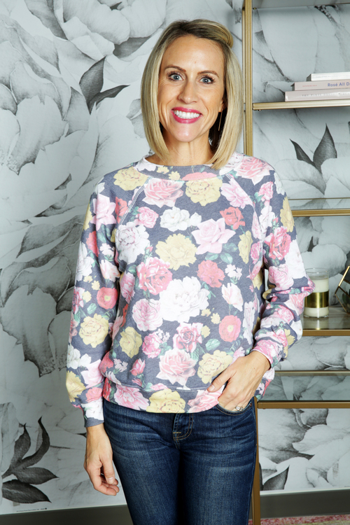 Queen's Garden Sweater