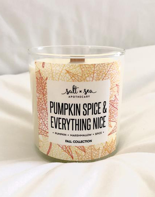 Pumpkin Spice & Everything Nice Candle