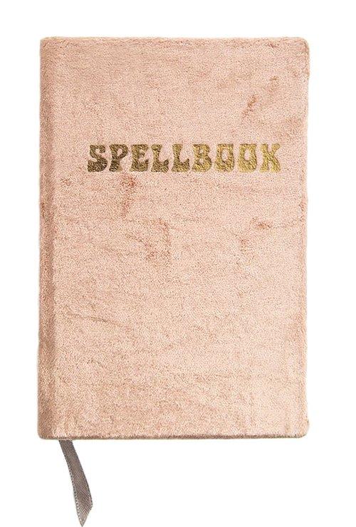 Small Velvet Journal - Copper Spell Book
