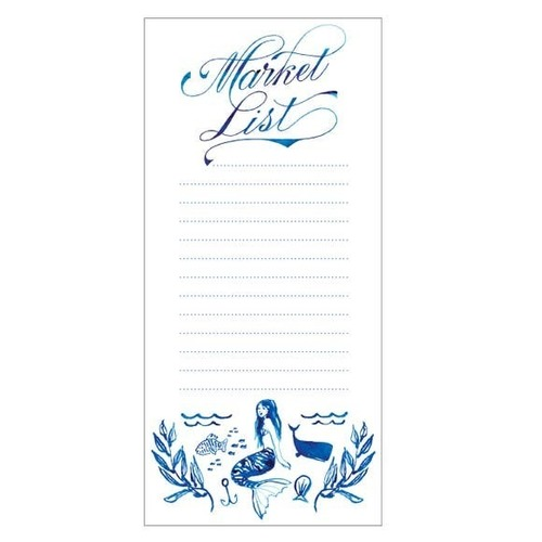 Mermaid Weekly List Fridge Pad
