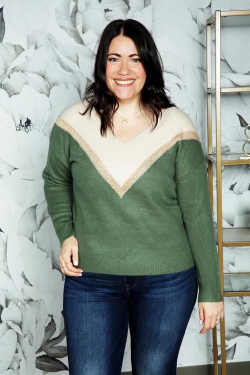 Nouna Striped Sweater