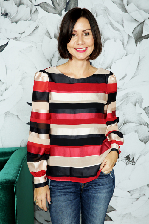 Chirelle Striped Top
