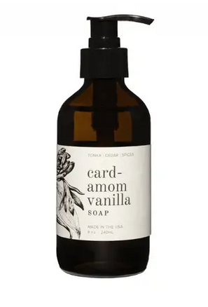 Cardamom Vanilla 8 OZ Soap