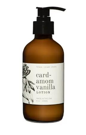 Cardamom Vanilla 8 OZ Lotion