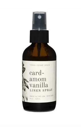 Cardamom Vanilla Linen Spray
