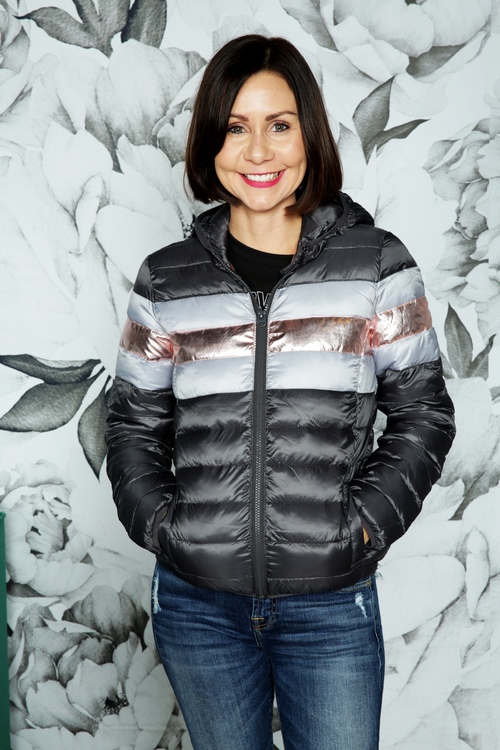 Quinn Contrast Quilted Jacket