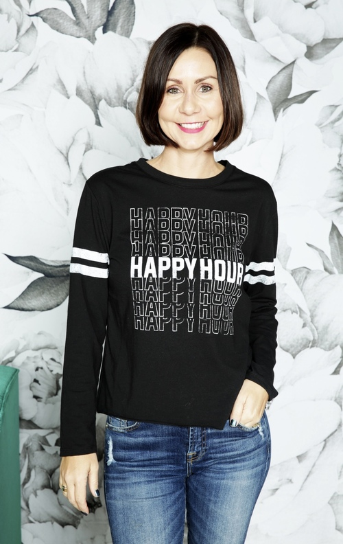 Happy Hour Long Sleeve Tee