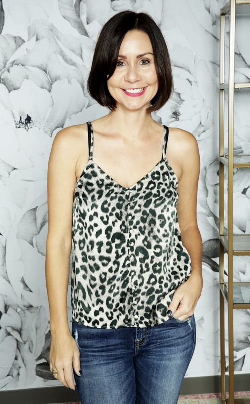 Force of Nature Leopard Cami