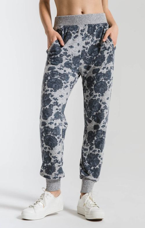 The Marled Floral Pant