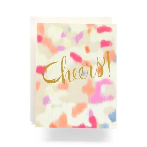 Abstract Cheers Greeting Card