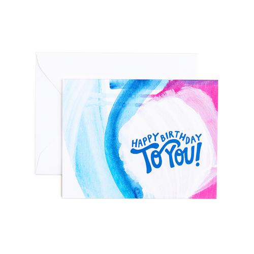 Laura Birthday Card