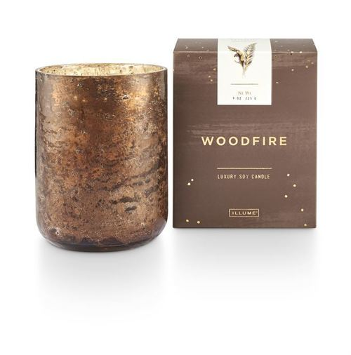 Small Luxe Candle - Woodfire