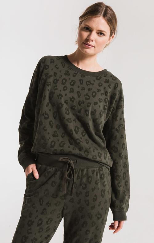 The Rosin Animal Flocked Pullover